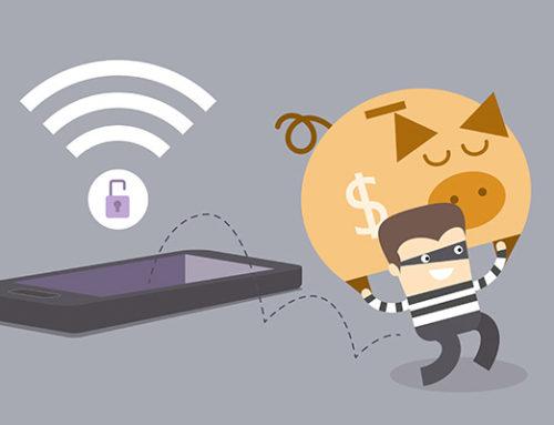 Porque tu wifi tiene que estar encriptada